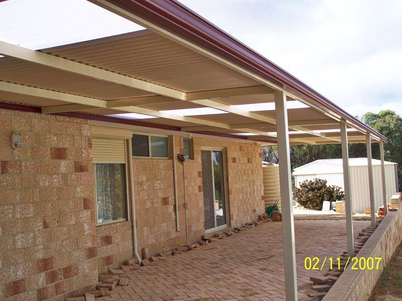 Flat Roof Patios Perth Patios Pergolas And Carports